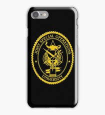 Joint Special Operations University Emblem iPhone Case/Skin