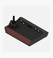 Atari 2600 Console - Isometric Photographic Print