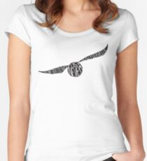 Snitch  Women's Fitted Scoop T-Shirt