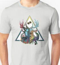 Split between worlds Unisex T-Shirt