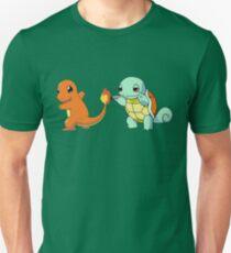Camiseta ajustada Mejores amigos