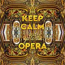 Keep Calm and Go to the Opera Garnier Grand Foyer Paris by Beverly Claire Kaiya