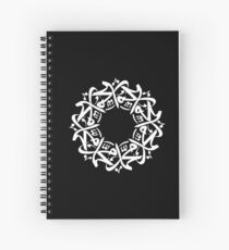 Mohammed (Arabic Calligraphy) Spiral Notebook
