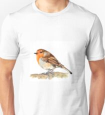 Robin,birds,wildlife Unisex T-Shirt