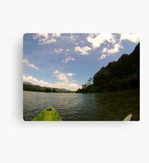 Kayaking Asia Canvas Print