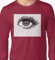 woman eye Long Sleeve T-Shirt