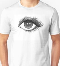 woman eye T-Shirt