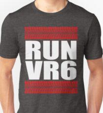 RUN VR6 tread Unisex T-Shirt