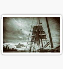 Stormy Sunset Sails - Sydney Harbour - Australia Sticker