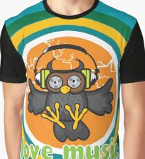 Love music Graphic T-Shirt