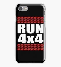 RUN 4x4 tread iPhone Case/Skin