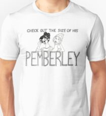 Ladies Love Pemberley Unisex T-Shirt