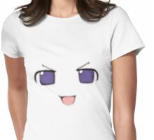 Nep-Nep smug face Womens Fitted T-Shirt
