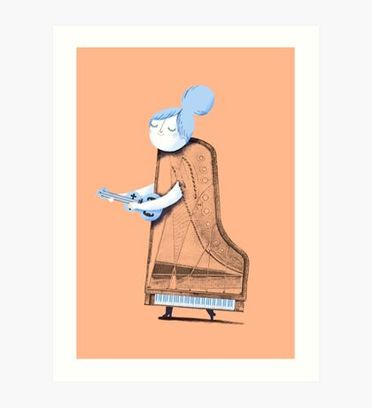Lady in G Major Art Print