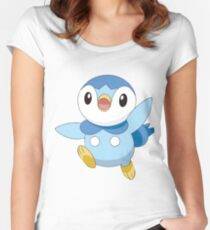 Piplup Women's Fitted Scoop T-Shirt
