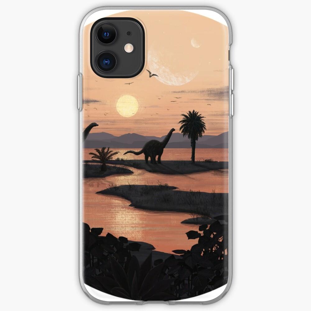 Jurassic Beach iPhone Soft Case