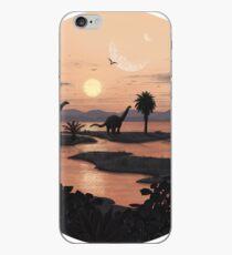 Jurassic Beach iPhone Case