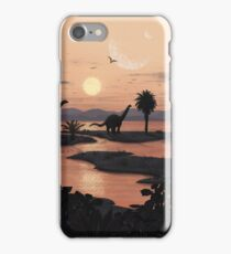 Jurassic Beach iPhone Case/Skin