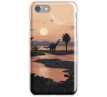Jurassic Beach iPhone Case/Skin