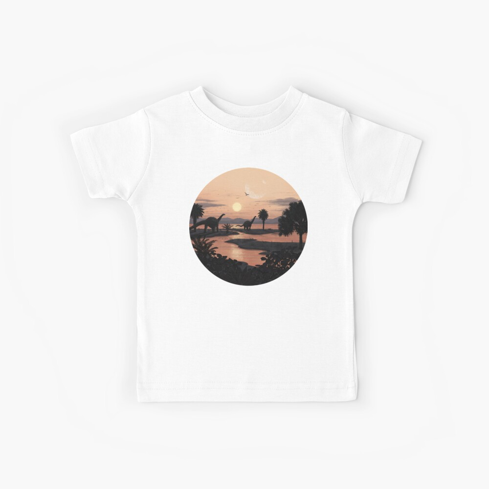 Jurassic Beach Kinder T-Shirt
