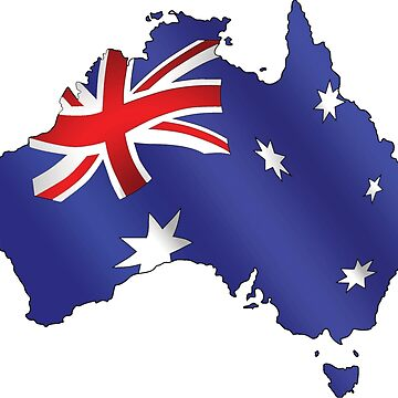 Australian Flag by hoddynoddy