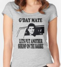 Dumb And Dumber - G'day Mate Women's Fitted Scoop T-Shirt