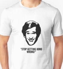 """Alan Partridge """"Bond"""" Quote T-Shirt"""