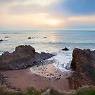 North Cornish Coast, near Treknow by Victoria Ashman
