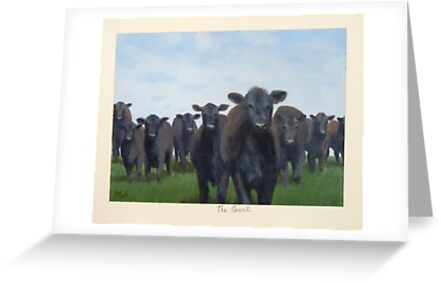 9 black cows: the Court by PhyllisGAndrews