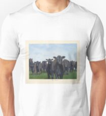 9 black cows: the Court Unisex T-Shirt