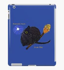 Broomstick Mouse iPad Case/Skin