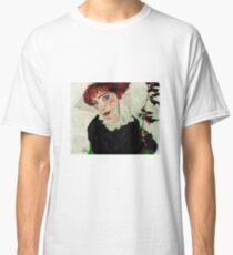 Egon Schiele - Portrait of Wally Neuzil 1912 Woman Portrait Classic T-Shirt