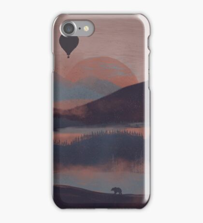 Adrift in the Mountains... iPhone Case/Skin