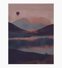 Adrift in the Mountains... Photographic Print