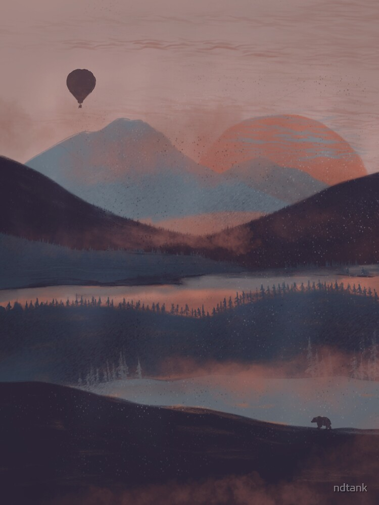 Adrift in the Mountains... by ndtank