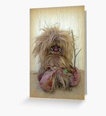 Troll figure - Jeremiah Greeting Card