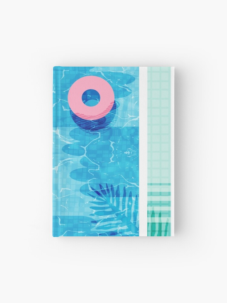 Chillin\' - swimming pool vacation palm springs resort country club swim  team athlete swimmer | Hardcover Journal