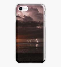 roebuck bay lighting and fire  iPhone Case/Skin
