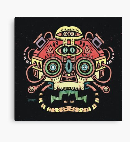 Alien tribe  Canvas Print