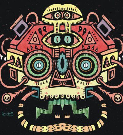 Alien tribe  Sticker