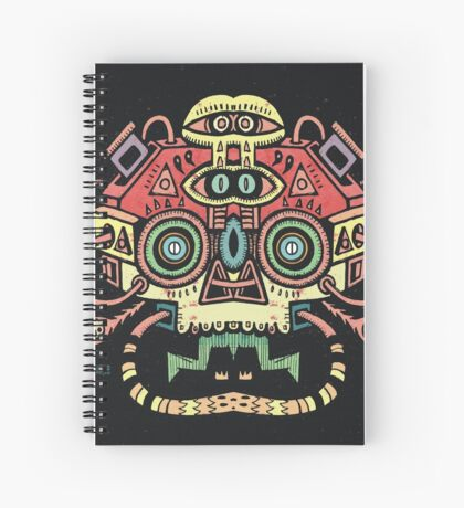 Alien tribe  Spiral Notebook