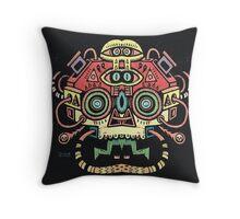 Alien tribe  Throw Pillow