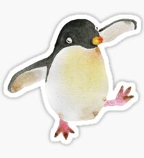 Dancing Penguin Sticker