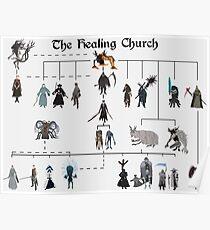 Bloodborne - The Healing Church  Poster