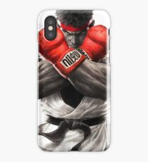 Street Fighter V: Ryu Poster iPhone Case/Skin