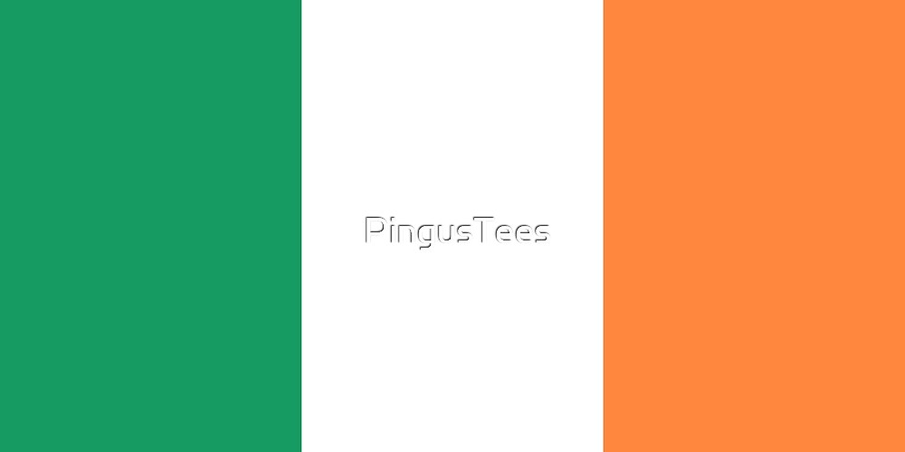 Ireland Flag by PingusTees