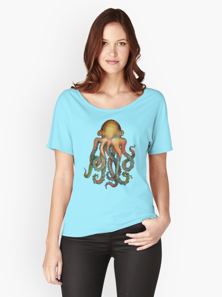 Octopus or Squid? It's a Cephalopod! Women's Relaxed Fit T-Shirt Front