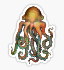 Octopus or Squid? It's a Cephalopod! Sticker