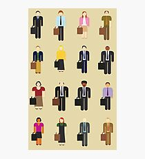The Office: Characters Photographic Print