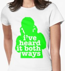Psych - I've Heard It Both Ways Women's Fitted T-Shirt